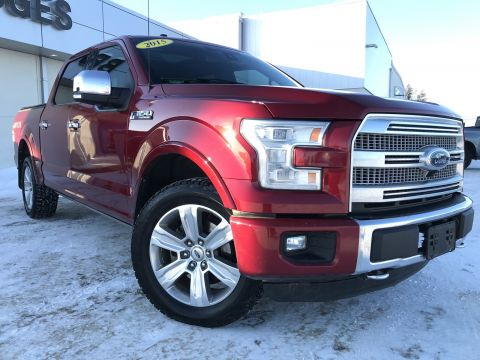 2015 Ford F-150 Platinum**Check this one out**