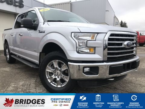 Pre-Owned 2016 Ford F-150 XLT**One Owner | Remote start | backup cam** 4WD