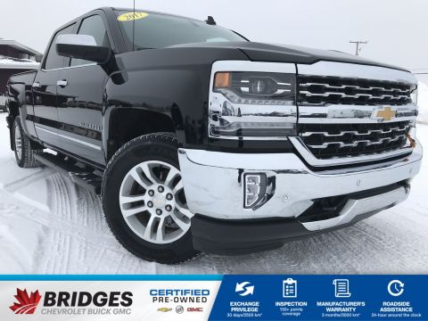 Certified Pre-Owned 2017 Chevrolet Silverado 1500 LTZ**BLOWOUT PRICE** 4WD