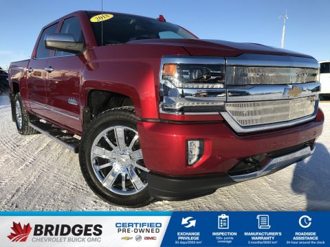2018 Chevrolet Silverado 1500 High Country**NAV | SUNROOF | ONE OWNER**