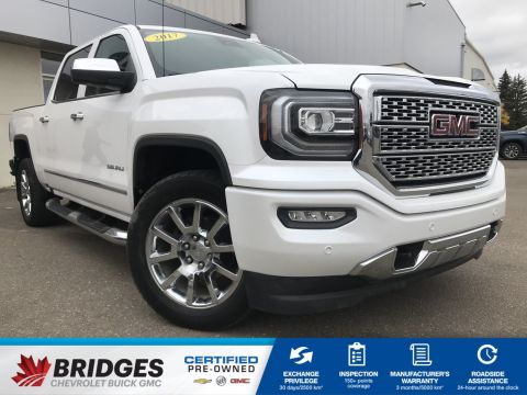 Certified Pre-Owned 2017 GMC Sierra 1500 Denali**LOADED** With Navigation & 4WD